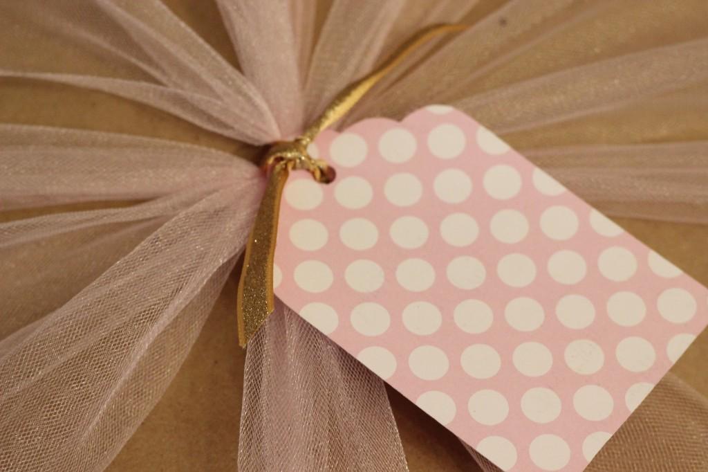 Polka Dot Gift Tag
