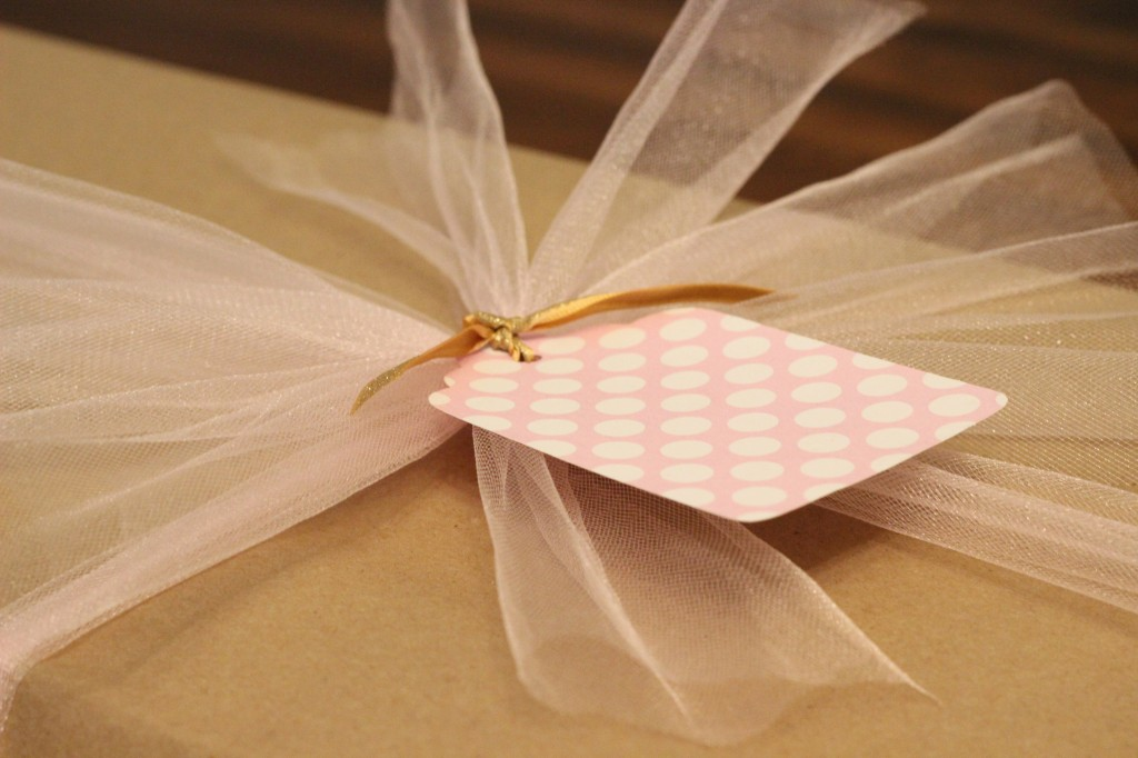 Pink Gift Tag