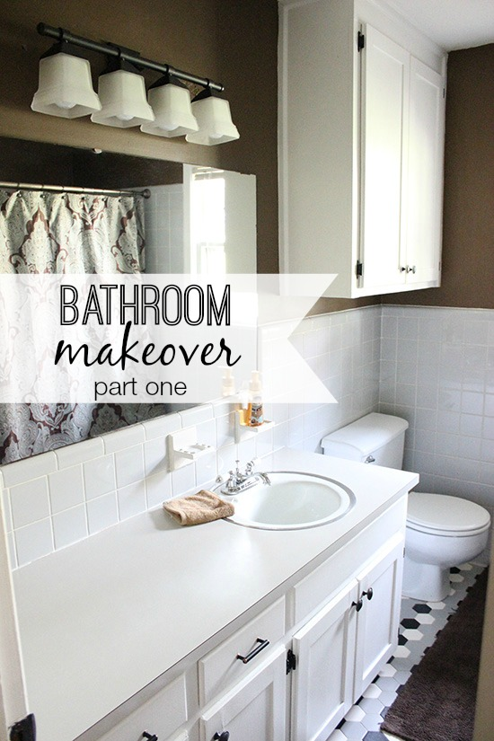 Bathroom makeover part one