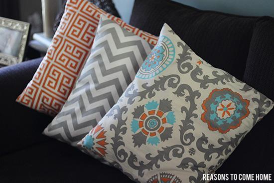 DIY Pillow Covers 1