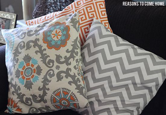 DIY Pillow Covers 2