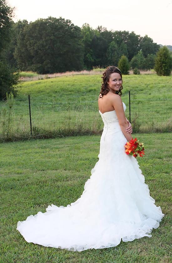 bridal portrait pose