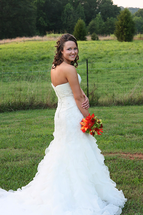 creative bridal portrait ideas