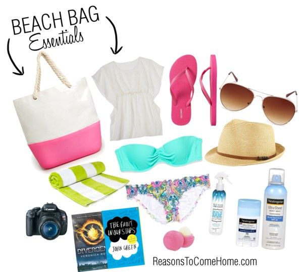 Five on Friday: Beach Bag Essentials