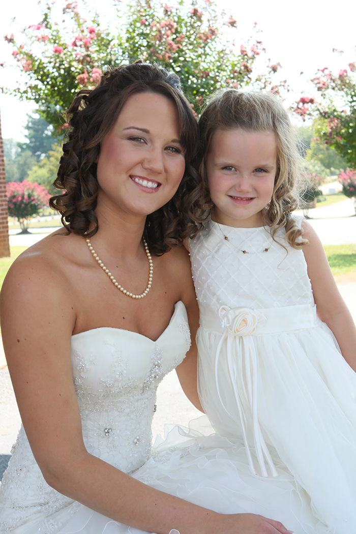 flower girl picture