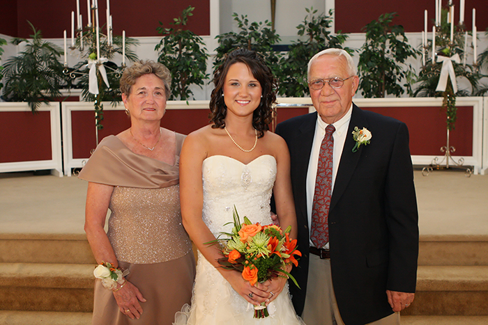 family wedding pictures