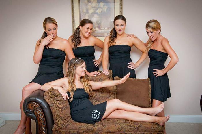 Bridesmaids ring picture