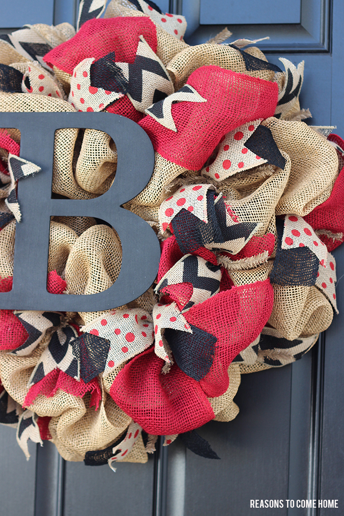 Gamecock burlap wreath
