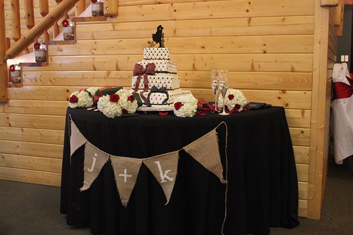 Gamecock wedding cake