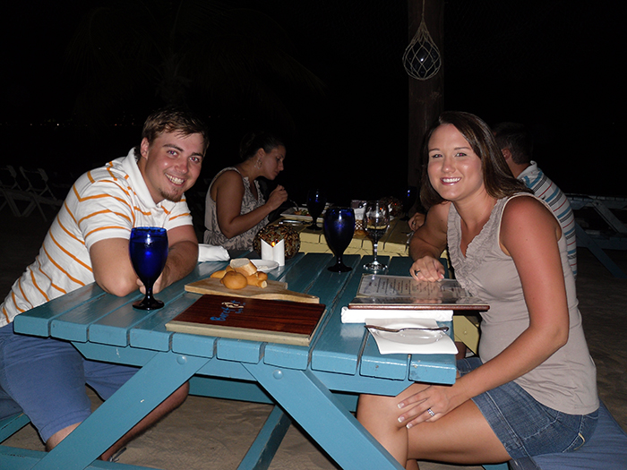 Sandals Grande St. Lucian honeymoon