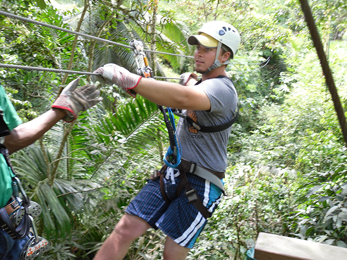 St. Lucia zipline
