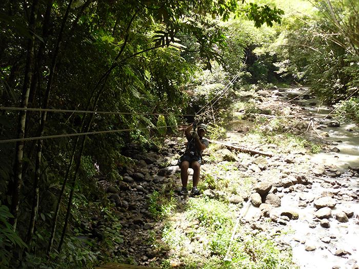 St. Lucia ziplining