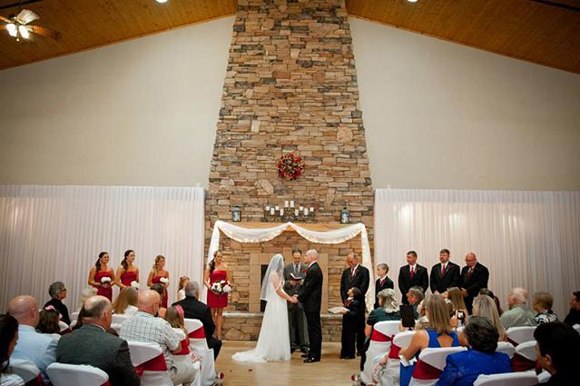 Gamecock wedding