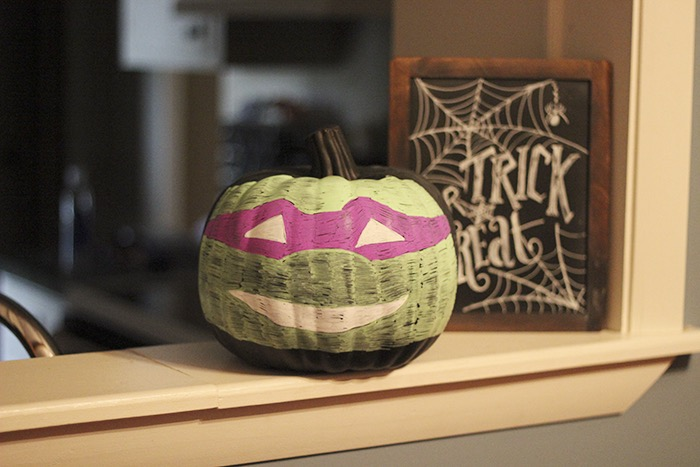 Donatello Pumpkin
