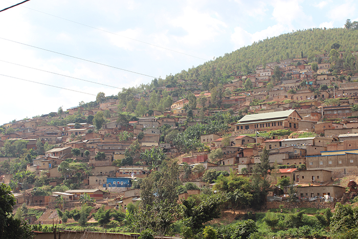 Rwanda Hillside