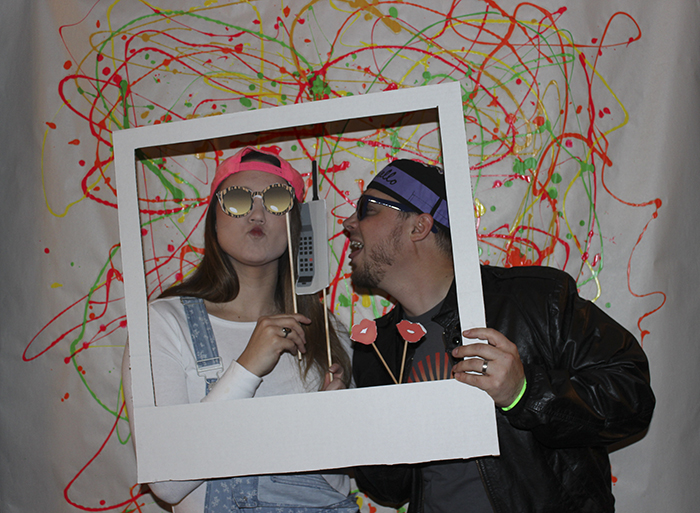 90s party photobooth
