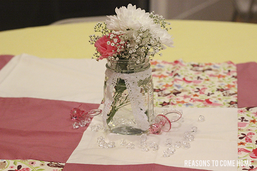 Vintage Baby girl Shower