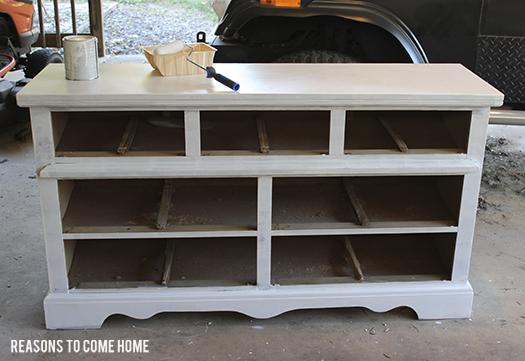 priming wood furniture