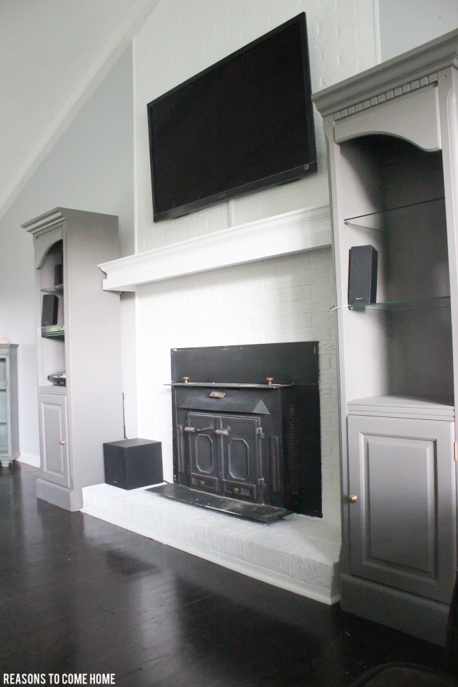 Fireplace Makeover-9