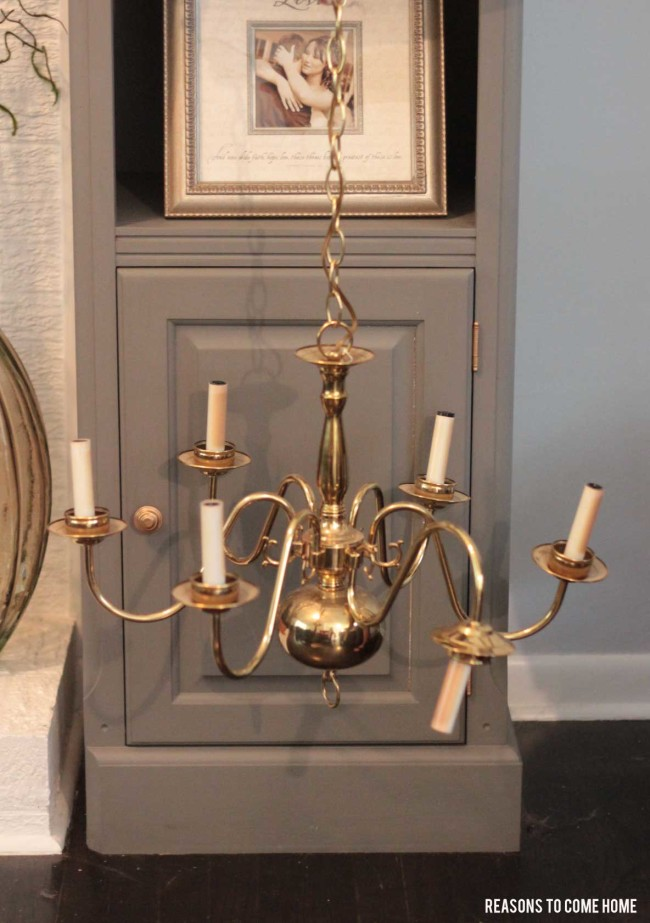 Diy chandelier makeover chandelier makeover aloadofball Image collections