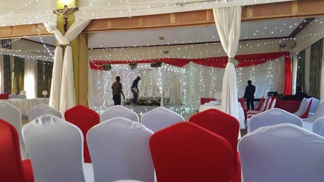 Rwandan Wedding Reception