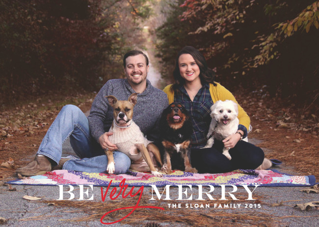Christmas Card front