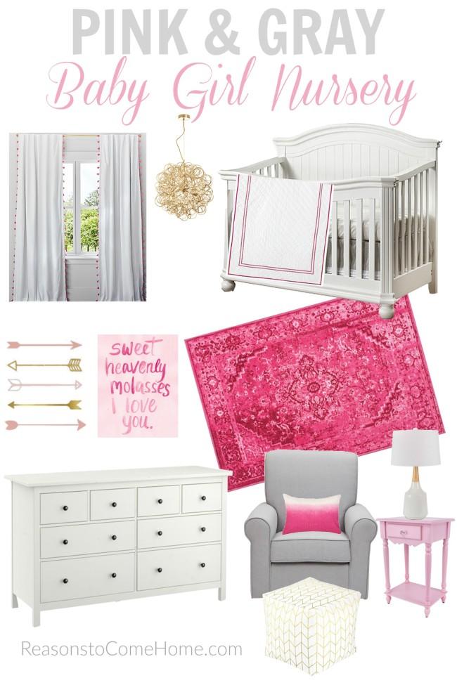 Pink & Gray Nursery