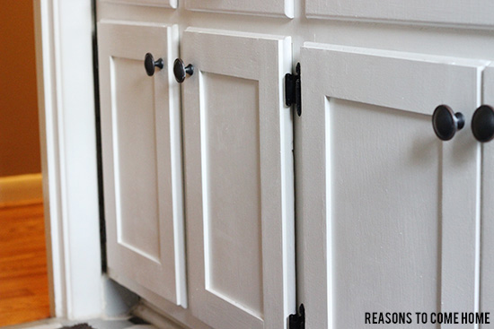 Great Updating Cabinets On A Dime