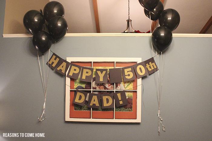 Happy 50th Birthday, Dad!